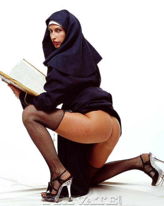 монашка задом фото