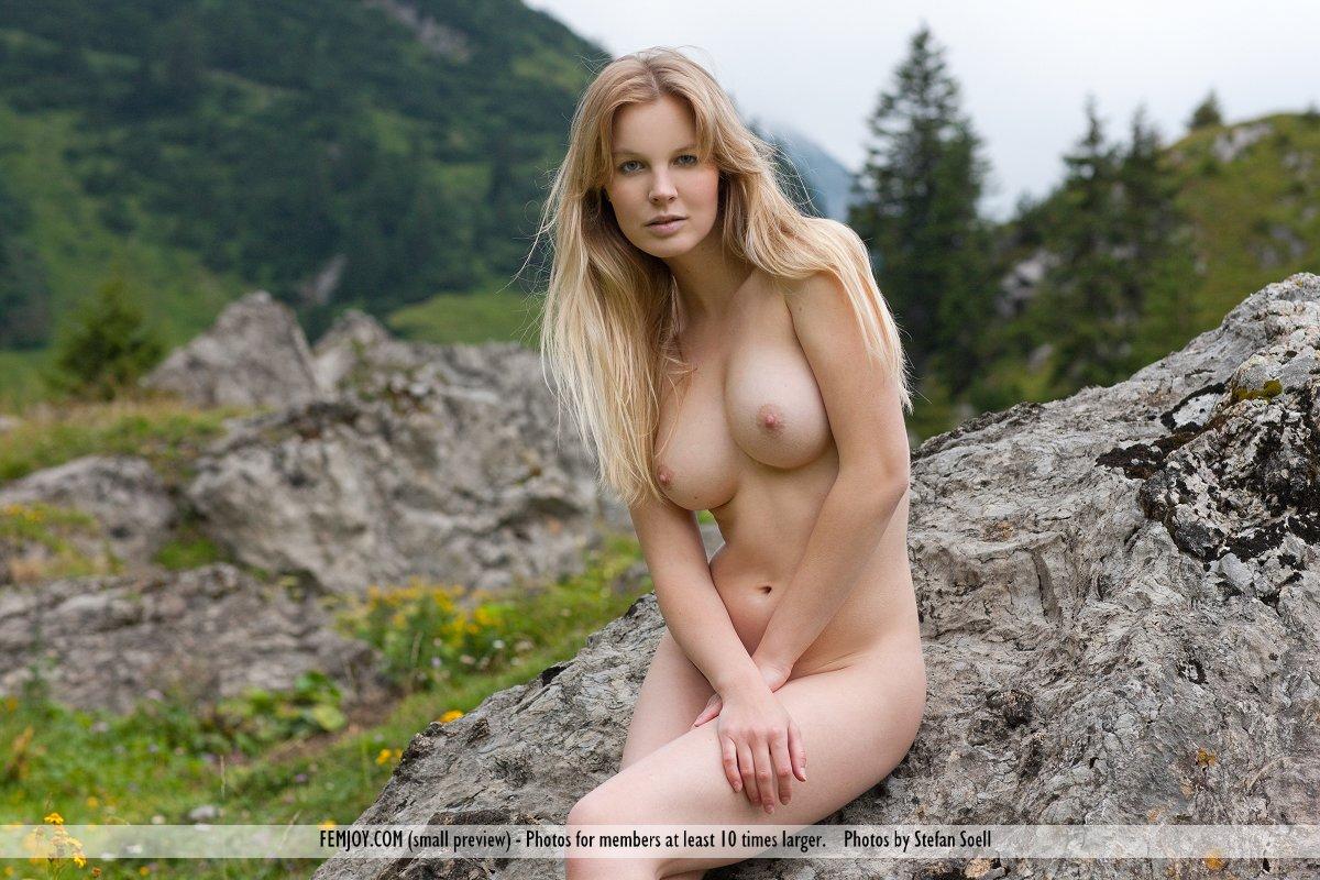 Femjoy Busty Blonde Nude