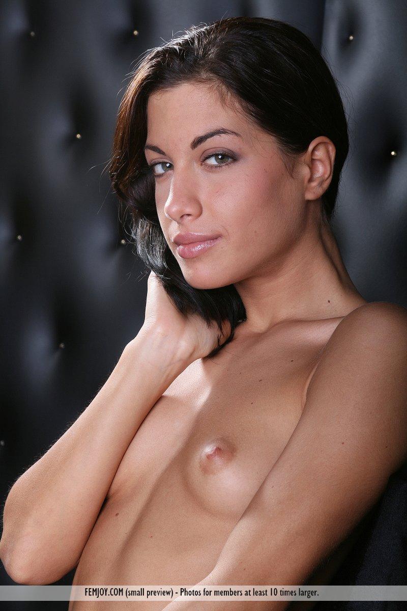 Brunette Porno Foto haarig